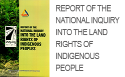 Report of the National Inquiry into the land rights of indigenous people