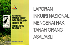 Laporan Inkuiri Nasional Mengenai Hak Tanah Orang Asal/Asli