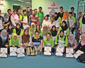 Visit by Student From UMS