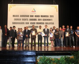 Human Rights Award 2011 Ceremony