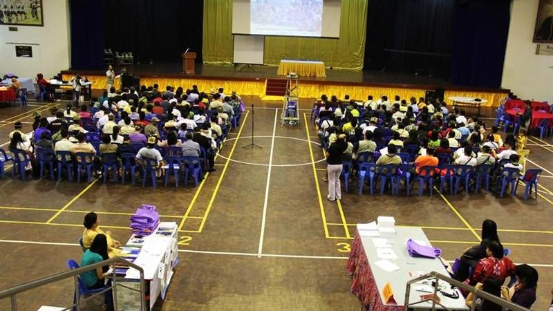 Sambutan Hari Orang AsliAsal di Sabah 2011