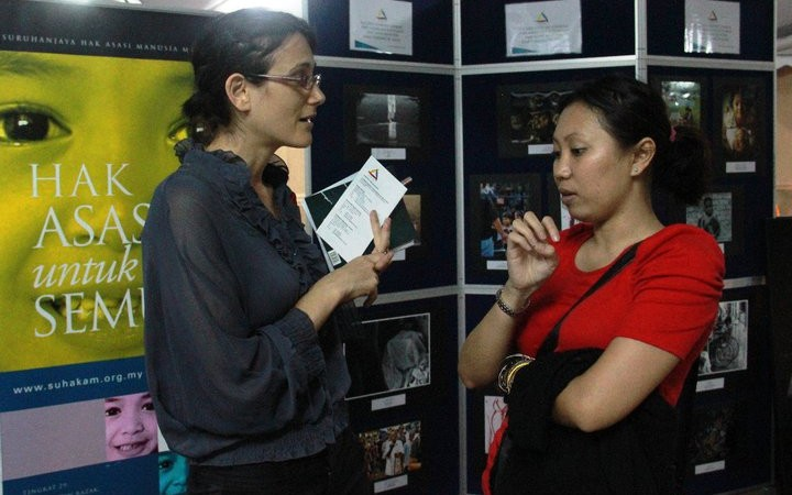 Human Rights Education Exhibition in conjunction of AIDS